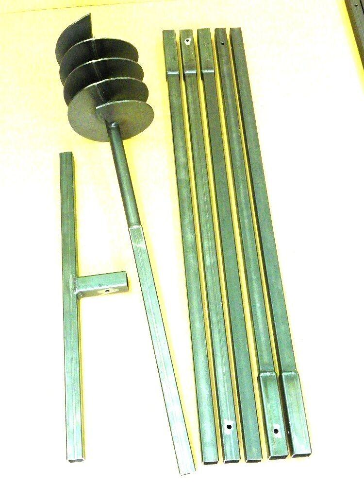200 6 m tres tari re main perceuse de puits tariere auger drill foret. Black Bedroom Furniture Sets. Home Design Ideas