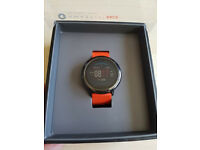 "AMAZFIT PACE Smart/Sport Watch - GPS, 4GB storage, Music, Always on 1.34"" touch display, HR Monitor"