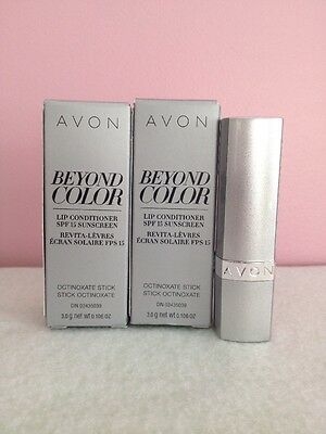 Avon Beyond Color Plumping Lip Conditioner With Spf 15 Sunscreen Lot Of  2