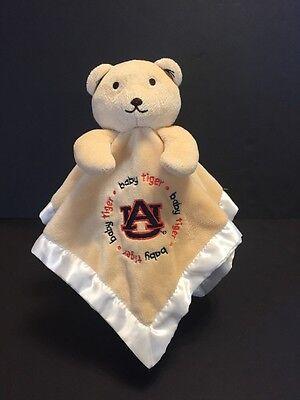 - Baby Fanatic Auburn University Beige Security Blanket Lovey Baby Tiger Plush