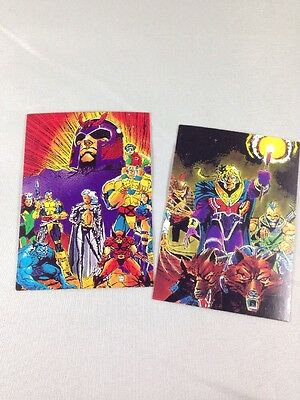 X-MEN 1991 Trading Cards #1 THE X-MEN & #2 The Reavers - Marvel Comics for sale  Chalfont
