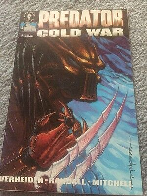 Predator Cold War 1 First Printing Excellent Condition