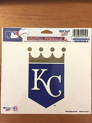 Kansas City Royals MLB Baseball Ultra Decal Window Sticker Car Made in the - Kansas City Royals Stickers