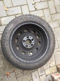 All weather tyres set of 4