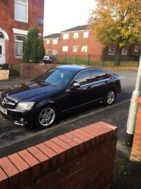 2007 MERCEDES C220 CDI AMG SPORT PX WELCOME