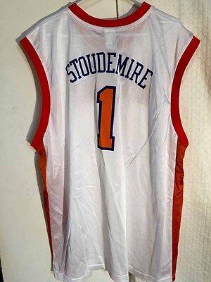 Adidas NBA Jersey New York Knicks Amare Stoudemire White sz L