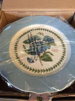 PORTMEIRION BOTANIC GARDEN TERRACE LARGE FOOTED CAKE PLATE 10.75