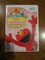 Sesame Street A-To-Zoo Wii game