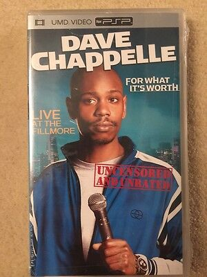 Dave Chappelle - For What It's Worth (UMD, 2005) Psp PlayStation Portable Movie