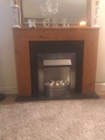 Electric fireplace for sale! Full working order