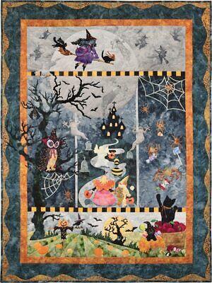 McKenna Ryan~Once in a Boo Moon~Halloween~Pre-Cut Laser Applique Kit w/Fabric~46 - Halloween Crafts Pre K