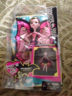 Monster High Draculaura Girl Doll Action Figure Wings Vampire Sassy Bat Gothic