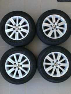 VW GOLF RIMS & TYRES WHEELS ALLOYS