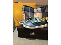 Boys adidas trainers size 1