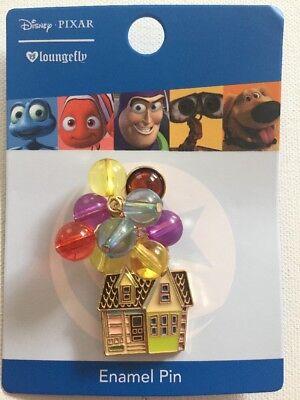 Carl Ellie Balloon House Enamel Pin 2018 Disney Pixar UP Loungefly