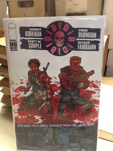 Die! Die! Die! Comic Image Skybound Kirkman Random Cover