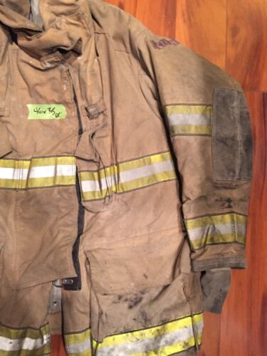 776a28185f1 Firefighter Globe Turnout Bunker Coat 46x35 G-Xtreme Halloween ...