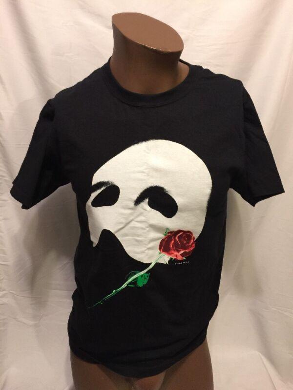1986 Vintage PHANTOM OF THE OPERA Broadway Small Tshirt NYC Play