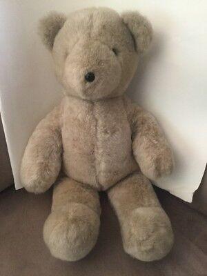THEODORE BEARINGTON vintage plush stuffed teddy bear, 1979, N. American Bear Co