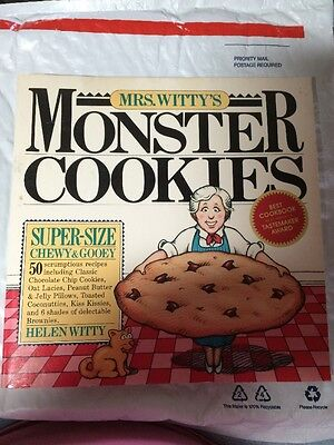 Mrs. Witty's Monster Cookies 1983 , Cookie Monster Super Size Book party