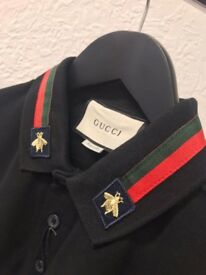 Gucci long sleeve top polo great piece
