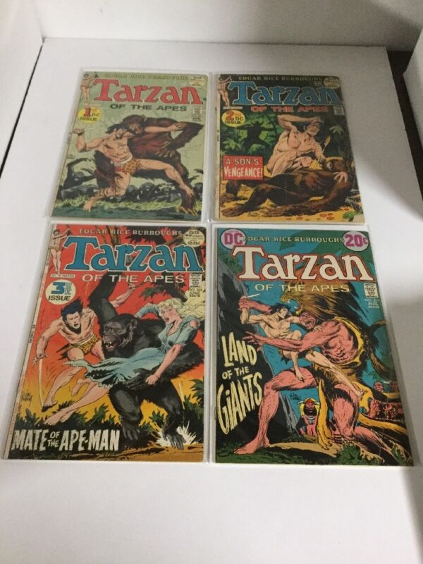 Tarzan Of The Apes 207-248 Mostly Vf Very Fine 8.0 24 Issue Lot