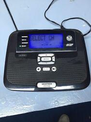 Radio Shack Weather Alert And Alarm  Clock Desktop