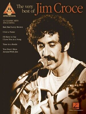 The Very Best of Jim Croce Sheet Music Guitar Tablature Book NEW 000690648