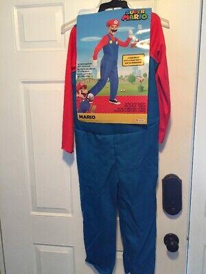 Super Mario Bros Mario Costume Halloween Dress Up - Super Mario Dress Up Kostüme