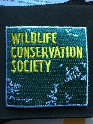 Wildlife Conservation Society  Bronx Zoo Patch