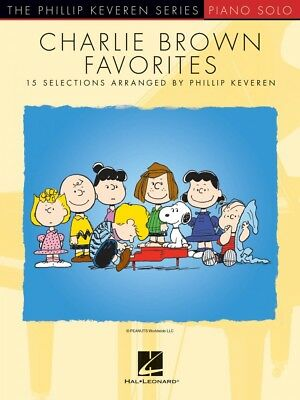 Charlie Brown Favorites Sheet Music 15 Selections by Phillip Keveren 000263362