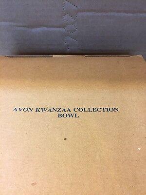 Avon Kwanzaa Collection Bowl