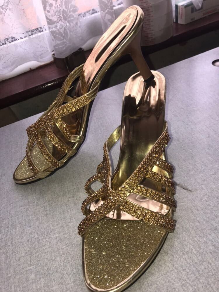 Gold Indian Sandals