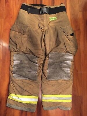 Firefighter Turnout Bunker Pants Globe 38x32 G Extreme Halloween Costume 2007