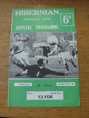 09/12/1967 Hibernian v Clyde  (Light Crease)