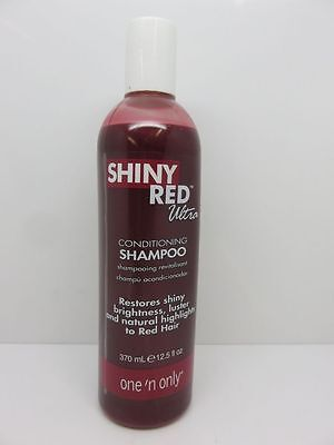 Ultra Conditioning Shampoo (One 'N Only Shiny Red Ultra Conditioning Shampoo Revitalizing Hair 1 Bottle)