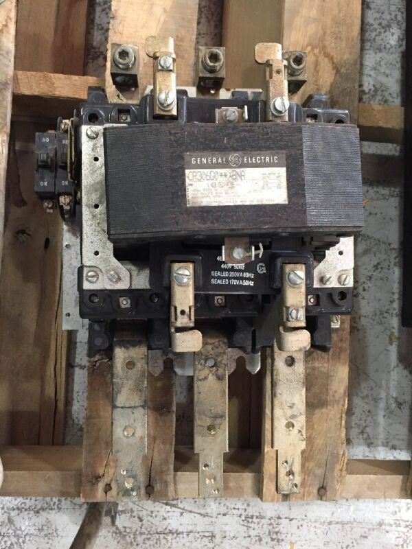 General Electric Contactor Size 5 CR306G0**XBNA 480 Volt Coil