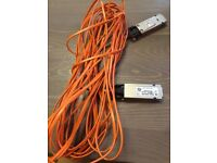 Dell DP260 Zarlink ZL60615MJDE 8M Meter Infiniband Fibre Cable Adapter 10gbe