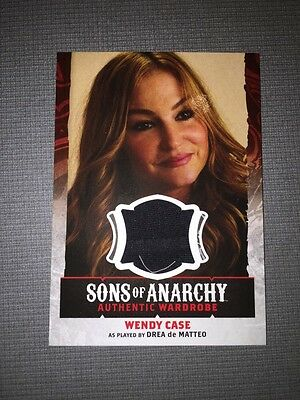 Sons Of Anarchy Trading Cards Authentic Wardrobe Card Of Wendy Case