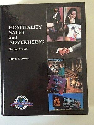 Hospitality Sales   Advertising Textbook James Abbey Hotel Motel Management