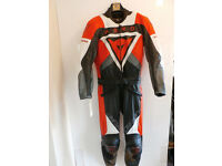 New Dainese Aero Motorcycle Motorbike Leather Racing Suit S EU46 UK36 Clearance BN