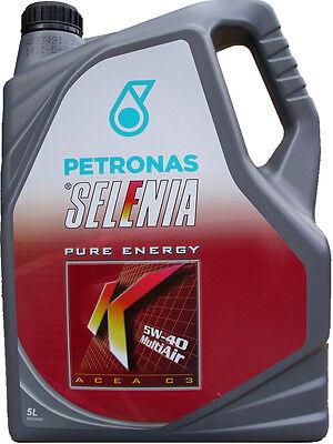 5 Liter 5W-40 Selenia K PURE ENERGY Multi Air 5W40 ACEA C3 FIAT MERCEDES VW BMW