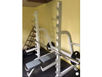 HEAVY DUTY OLYMPIC POWER RACK ONLY (no other equipment)