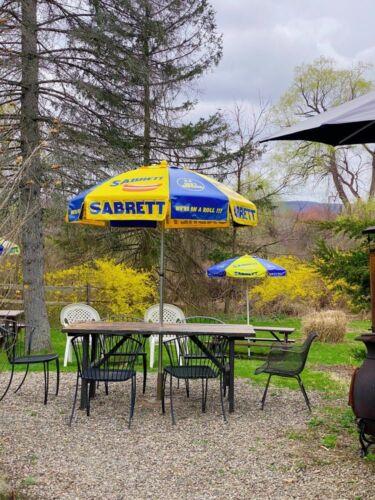 Original New Sabrett Hot Dog Umbrella