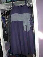 GRADUATION/BRIDESMAID DRESS SOPHISTICATED - MISSES SIZE 18