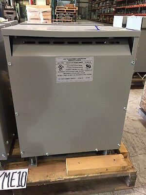 Vf Transformer 17 Kva Pri 550 Delta - 10 Sec 400y231 208y120 3 Phase