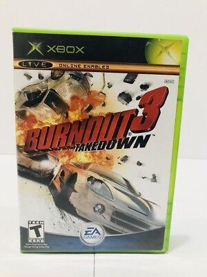 Burnout 3: Takedown (Microsoft Original Xbox, 2004) Free Shipping!! for sale  Shipping to India