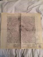 Cartina Militare Del Comune Di Barzio (lc) Anno 1935 -  - ebay.it