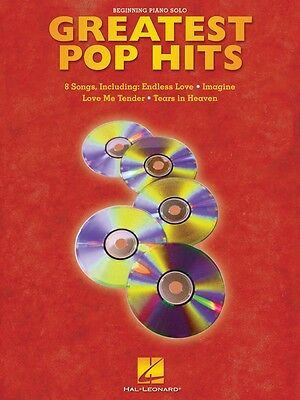 Greatest Pop Hits Sheet Music Beginning Piano Solo Songbook NEW 000311064 - Greatest Solo Songbook