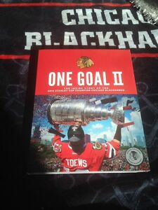 One Goal 2 Chicago Blackhawks Championship book plus DVD 17 Seconds Kane Toews